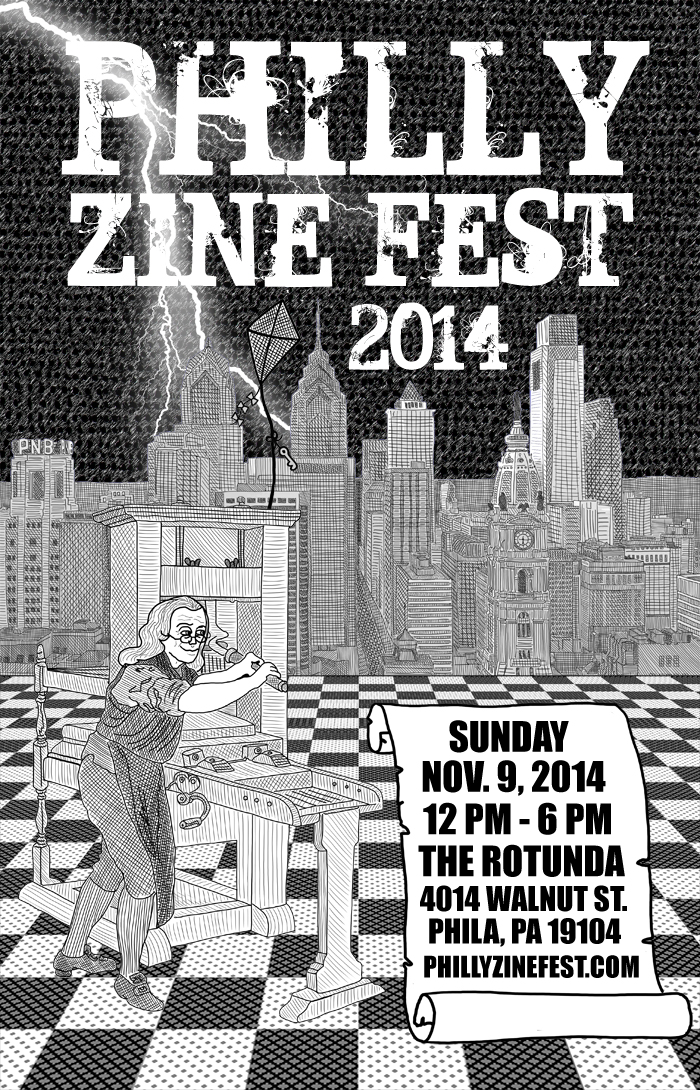 PHILLY ZINE FEST 2014 (POSTER)