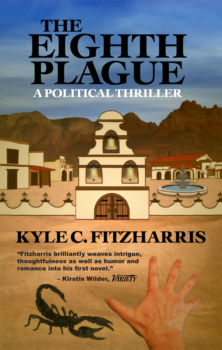 THE EIGHTH PLAGUE (BOOK JACKET) [PRINT VERSION]