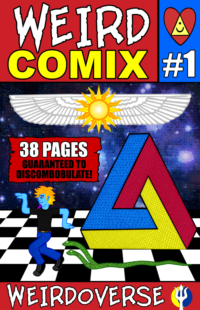 WEIRD COMIX 01 COVER