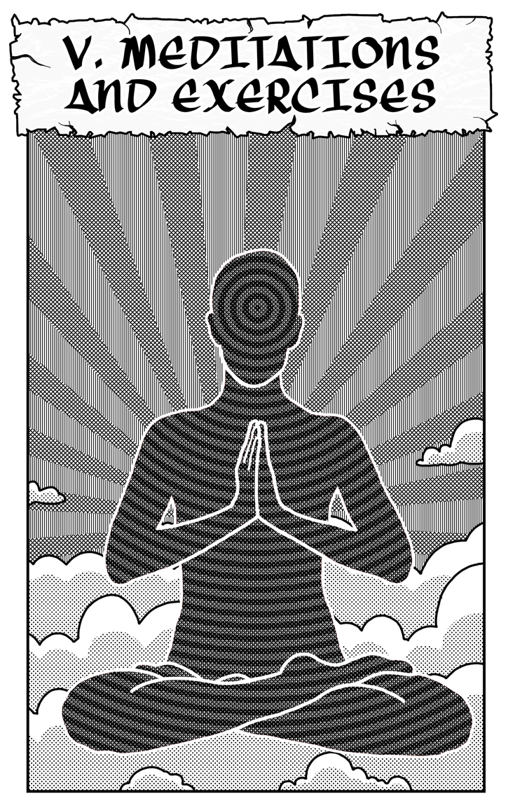ZEN - 5 - MEDITATIONS AND EXERCISES (PRINT VERSION)